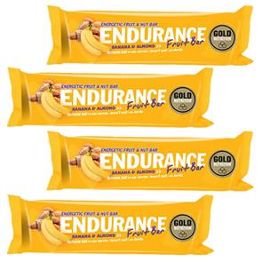 EnduEndurance Fruit Bar Banana - 4 unid. - GoldNutrition