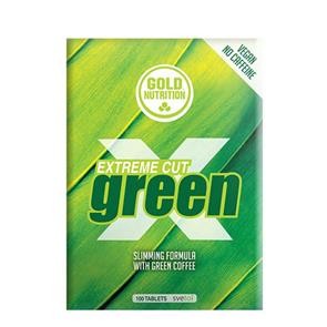 Extreme Cut Green 100 comprimidos GoldNutrition