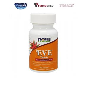 Multivitaminas e minerais - eve woman - NOW