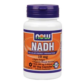 NADH 10mg + Ribose 200mg - NOW
