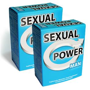 Pack 2 Sexual Power Man 60 comp.