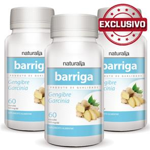 Pack 3 Barriga Naturalia
