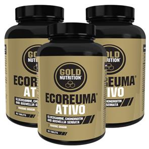 Pack 3 EcoReuma Ativo GoldNutrition Clinical