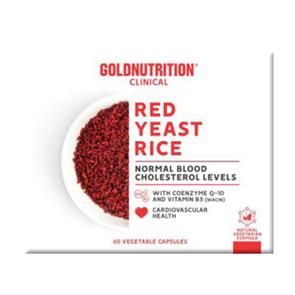 Red Yeast Rice 60 cápsulas GoldNutrition