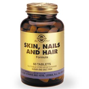 Skin, Nails and Hair 60 comp. - Solgar