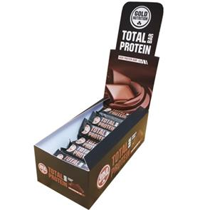 Total Bar Protein Chocolate - Cx. 24 unid. - GoldNutrition