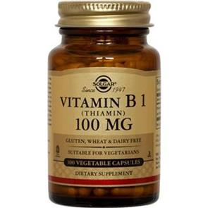 Vitamina B1 100 Mg - Solgar